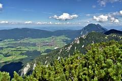 Inzell with Zwiesel (Michael Keyl) Tags: mountains berge alpen alps bayern bavaria inzell bayerischealpen outdoor hiking wandern rauschberg