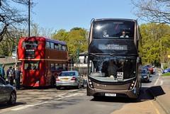 Weybridge Station (PD3.) Tags: surrey museum brooklands lbpt cobham annual bus buses coach spring gathering preserved vintage preservation trust 2017 london transport weybridge aec regent adl enviro 400 mmc westway services yy66pxr yy66 pxr llu957 llu 957