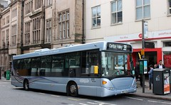 305 on 39 (timothyr673) Tags: 305 scania omnilink silverspare spare bus nct nottinghamcitytransport
