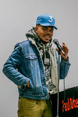 Chance the Rapper (Joshua Mellin) Tags: chancetherapper chance chancellorbennett coloringbook 2017 donation cps chicagopublicschools paulrobesonhighschool robesonhighschool paul robeson high school hiphop rap highschool newera 3 hat babyblue jeanjacket fashion press pressconference kids chicagobulls chicago bulls joshuamellin photography photos pics pictures best socialworks rapper rollingstone cover color colorful bold images philanthropy tour vertical