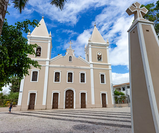 Igreja Matriz Santo Antônio e Almas de Itabaiana - Sergipe - Brasil
