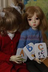 Invitation (Little little mouse) Tags: dollstown ganga susie dt7 bjd dollfie deogi penelope katzentabs lynnknit
