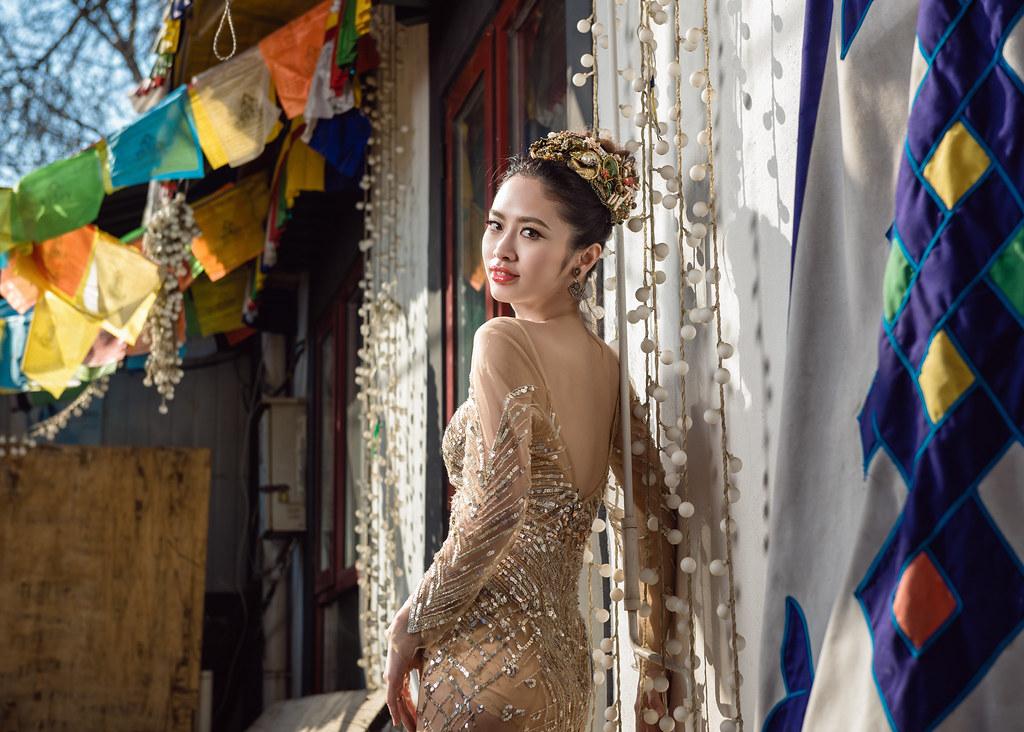 北京,長城,老胡同,婚紗,篡底下村,加冰,陳嘉彬