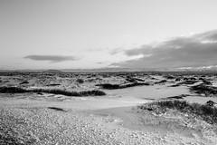 By the road.. on the 41 (Daniel Caridade) Tags: landscape bw black white snow preto branco iceland route estrada paisagem neve pb 41 islândia sun sol nuvens clouds