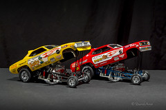 Snake and Mongoose (david.horst.7) Tags: 124 164 scale diecast model car fc nitro funnycar flopper snake mongoose donprudhomme tommcewen dragracing