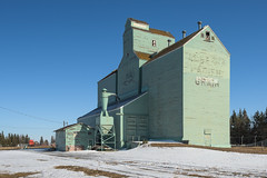 Elevator of Andrew, Alberta (WherezJeff) Tags: alberta andrew elevator grain green canada ca wooden historical
