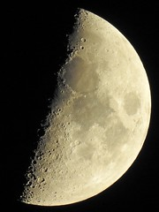 Endlich mal wieder ein klarer Himmel über Großmoor... (Wallus2010) Tags: moon mond krater astrofotografie supertele nikon p900 242000mm astronomie mondkrater