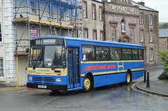 E158 XHS: Hutchison, Overtown (chucklebuster) Tags: e158xhs hutchison volvo b10m duple 300 kirkby stephen
