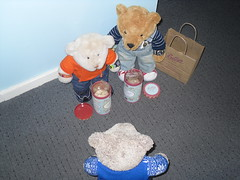 Kwality checked (pefkosmad) Tags: tedricstudmuffin ted nobbynomates gingernutt nobby ginger teddy bear holibob holiday vacation vacances gift present bettys biscuits cookies souvenir cute soft stuffed toy animal plush fluffy disappointment