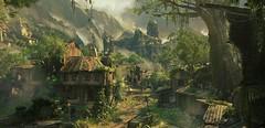 Libertalia (~Scimo~) Tags: ps4 screenshot landscape uncharted ruins village dorf ruinen landschaft berge jungle dschungel palace palast videogame