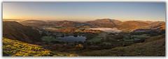 loughrigg fell sunrise panorama (explored) (akh1981) Tags: cumbria lake district sunrise trees panorama mist uk loughrigg tarn outdoors nikon manfrotto