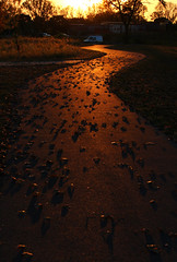 Evening Path (Eridony) Tags: columbus franklincounty ohio brewerydistrict park metropark trail path