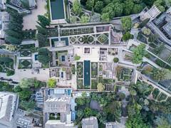 Arabic Gardens (Fabian F_) Tags: alhambra granada spain spanien drone drohne vacation bridseyeview arabic garden