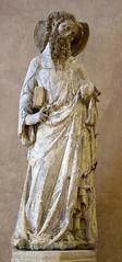 Apostle (c. 1340), by the Maître de Rieux (Toulouse, Musée des Augustins). (markusschlicht) Tags: skulptur sculpture escultura statue toulouse musée museum augustins rieux apostle apostel apostolo apôtre 14th century gothiquie gotik gotisch gotico mittelalter moyen âge middle ages