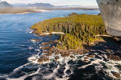 Blunden Island (SvenHoenisch) Tags: blundenisland britishcolumbia canada kanada landschaft nordamerika northamerica rundflug tofino tofinoair vancouverisland landscape landscapes alberniclayoquotc
