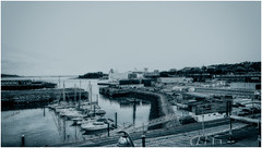 Milbay docks (mik-shep) Tags: 365the2017edition day118365 day118 2017onephotoeachday 3652017 28apr17 plymouth devon milbaydocks marina britannyferry bw blackwhite