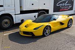 LaFerrari (AureilFerrari) Tags: aureil automobile automotive auto car coche voiture wagen worldcars jaune yellow giallo supercar supercars hypercar canon eos 60d