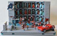 Labo stark 01 (John_Toulouse) Tags: moc mod lego johntoulouse super heroes sh ironman iron man avengers stark labo armor