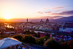 Florenz (pure:passion:photography) Tags: florenz firenze florence italy italien sonnenuntergang sunset sunrise sonya99 sonyalpha99 zeiss1635 cityscape colors colourful europe panorama michelangelo purepassionphotography