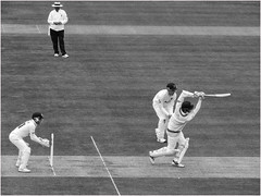 111.2 Play it again Sam (Dominic@Caterham) Tags: cricket lords batsman wicketkeeper umpire wicket