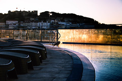 Morning dip? (Maria Eklind) Tags: rooftopbar dip swimmingpool lisbon vipexecutiveedenaparthotel hotel cityview hotell city streetview bath lissabon street portugal lisboa pt