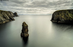 Glencolmcille Sea Stack (C.M_Photography) Tags: 10stop longexposure donegal glencolmcille ireland seastack cliffs rocks