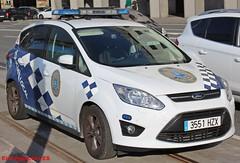 Policía Local A Coruña (emergenciases) Tags: policíalocal acoruña galicia policía pl playa vehículo emergencias 112 rescate ford