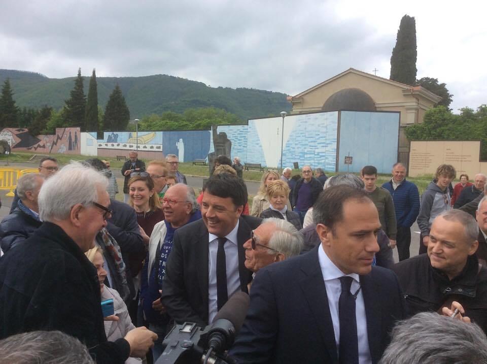 Orlando a S.Anna, Renzi a Cavriglia