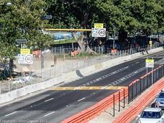 CBD & South East Light Rail - Moore Park - Update 24 April 2017  (2) (john cowper) Tags: cselr moorepark sydneylightrail cutandcover tunnel alignment anzacparade
