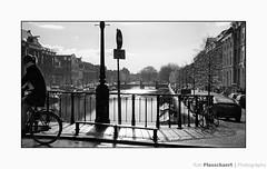 Rain & Sun (++Rob++) Tags: haarlem zwartwit blacjwhite bicycle fiets brug bridge
