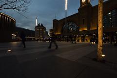 rush hour (mjwpix) Tags: rushhour kingscross blurredmovement evening people michaeljohnwhite mjwpix ef1635mmf4lisusm canoneos5dmarkiii