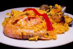 Restaurante La Muralla - Paella mixta