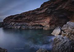 Miradas (carmenvillar100) Tags: safigueraborde calacomte cova ibiza mediterraneansea cave eivissa seascape baleares illesbalears spain flickerasdeibiza