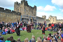 DSC_6592 (nordic lady) Tags: alnwick castle harry potter sightseeing england alnmouth holidays easter 2017