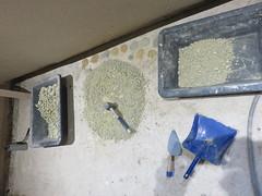 argile (britoune41) Tags: écoconstruction paille terre argile solenterre enduitterre bois cadrecanadien maisonenpaille constructionécologique dordogne tadelak isolationnaturelle