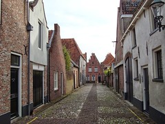 Small old city called Elburg. (Dicky.1952) Tags: street alley elburg gelderland guelders