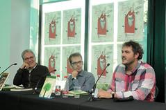 Juli Peretó, Gonçal López-Pampló i Andreu Escrivà 30/04/2017