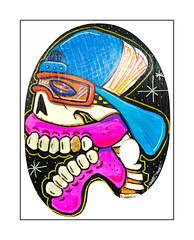 Sweet Toof, East End Mob Exhibition @BSMT Space 20th April - 4th May 2017. (Joseph O'Malley64) Tags: sweettoof bc burningcandy burningcandycrew eastendmob bsmtspace bsmtspacegallery streetartist streetart urbanart publicart freeart graffiti palette wooden gallery exhibit forsale fujix accuracyprecision