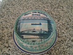 DuLuth Bridge Cake by Brenda L, Santa Cruz CA, www.birthdaycakes4free.com