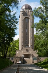 Water Tower (Michael Tracy's photos) Tags: poland nyas