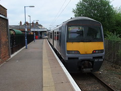 321308 Braintree 19th May 2013 (Cooperail) Tags: train suffolk br norfolk railway line east locomotive eur essex cambridgeshire ecr anglia ger lner dmu 2013