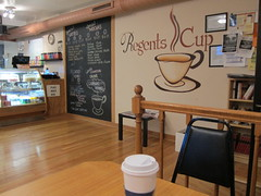Kickin off Kenwood with Regents Cup coffee in the lobby of Regents Park's apartments (sassnasty) Tags: chicago walking tour neighborhood hood kenwood hoods