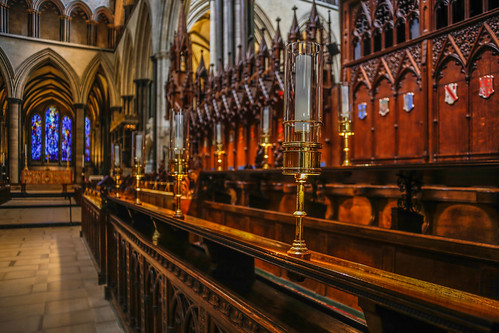 Choir Stalls, Salisbury Cathedral