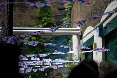 jubilee flags (n.a.) Tags: city london jubilee union flags diamond spitalfields