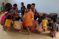 a big lunch (theancientpath) Tags: poverty school village hunger madagascar cyclone nutrition malnourishment mikea