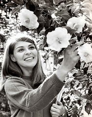 Cindy Black (2) (Valdosta State University Archives) Tags: georgia us valdosta unitedstates 1967 studentlife valdostastateuniversity valdostastatecollege cindyblack campusbeauties camelliatrial