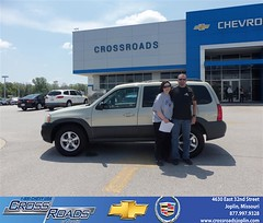 Crossroads Chevrolet Cadillac Joplin Missouri Customer Reviews and Testimonials - Julia and Brent Shore (Crossroads Chevrolet Cadillac) Tags: new chevrolet car sedan truck wagon happy pickup cadillac mo used vehicles chevy missouri bday van minivan suv crossroads luxury coupe dealership caddy joplin shoutouts hatchback dealer customers 4dr 2dr preowned