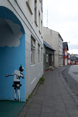 Little Girl (CasualCapture) Tags: street travel holiday streetart iceland mural may reykjavik capitalregion 2013