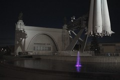 All-Russia Exhibition Centre, Moscow (Aleksandr Zykov) Tags: night russia moscow space rocket