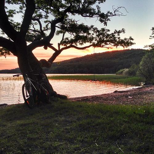 Sjökväll #hemomkring #fårdugaväder #västersjön